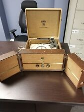 Dumont Stereophonic Stereo Radio, Speakers Extremely Rare Untested Portable Case