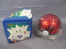 "Pokemon 23k Gold Plated ""TOGEPI"" Trading Card Limited Edtion + Pokeball & COA"