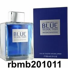 Blue Seduction By Antonio Banderas 6.7oz/200ml Edt Spray For Men New In Box
