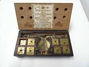 MÜNZWAAGE 1782, J. P. AECKERSBERG, COIN SCALE, BALANCE TREBUCHET