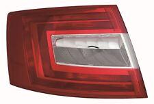 Skoda Octavia 2013-> Hatchback Rear Tail Light Lamp N/S Passenger Left