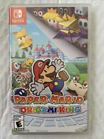 Paper Mario: The Origami King For Nintendo Switch, 2020 NEW/SEALED