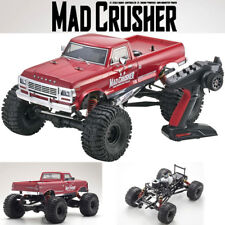 Kyosho 33152 1/8 Mad Crusher GP Monster Truck Nitro 4WD RTR Red w/ Radio