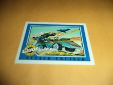 Attack Cruiser # 113 - GI Joe Series 1 Impel Hasbro 1991 Base Trading Card
