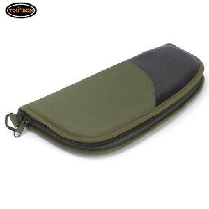 Tourbon Pistol Rug Cases Soft Padded Hand Gun Safe Storage Bag Full Zippered