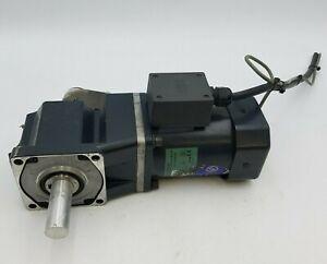 Oriental BHI62ST-G2 Induction Motor 200W 1/4HP 3PH 230V BH6G2-9RH Gearhead Used