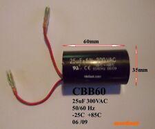CBB60 25uF 300VAC motor capacitor