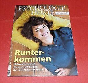 Psychologie Heute compact #53 2018 Runter-Kommen ungelesen
