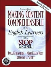 Making Content Comprehensible for English Language Learners : The SIOP Model by