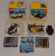 VINTAGE LEGO 1610 auto della polizia & Auto Da Corsa 1631 contenuto ANCORA NUOVO e SIGILLATO