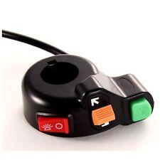Motocicleta Manillar Universal Control Interruptor Luz Indicador De Cuerno Bar Atv Quad
