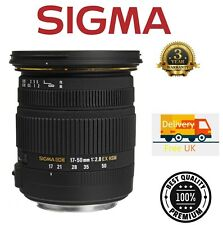 Sigma 17-50mm F2.8 EX DC OS HSM Lens For Canon 583954 (UK Stock)
