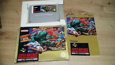 Street Fighter 2 II super Nintendo Snes