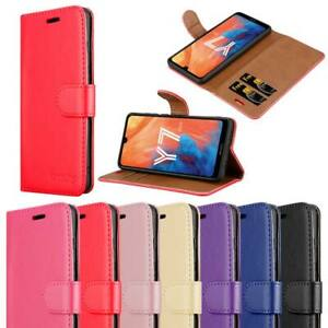 For Huawei Y7 2019 Phone Case Cover Luxury Leather Magnetic Flip Card Wallet