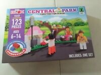 Central Park CONSTRUCTION BLOCKS 123 PIECES MY BLOX SET FOR AGES 6-14 YEARS OLD