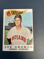 1960 Topps #216 Joe Gordon MG INDIANS VG