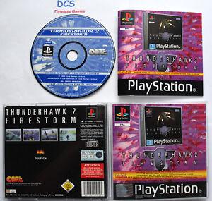 Thunderhawk 2 - Firestorm ( Sony Playstation 1 und PS2 Spiel ) DEUTSCH  PAL
