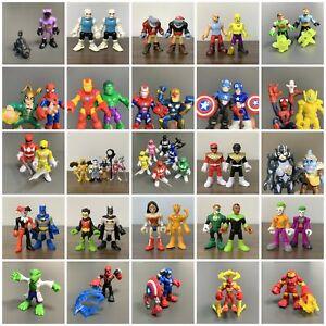 Bundle Imaginext DC Super Friends Comics Batman Superman Heroes Figures Toys