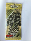 6 EXOTICA Brand BLACK GOLD Scented Car Air Fresheners Individually Sealed Cello