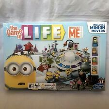 THE GAME OF LIFE DESPICABLE ME BOARD GAME BRAND NEW AND SEALED