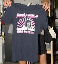 RANDY WATSON 1988 TOUR T SHIRT SEXUAL CHOCOLATE MEDIUM NEAR MINT