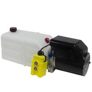 Flowfit 12V DC Single Acting Hydraulic Power pack, 8L Tank ZZ003834