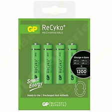 4 x AAA Ni-MH 400 mAH Rechargeable Batteries LR03 1.2v Ideal for cordless phones