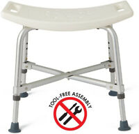 WAVE Heavy Duty Bariatric Bath Bench Shower Tub Chair Seat Supports 500 lb