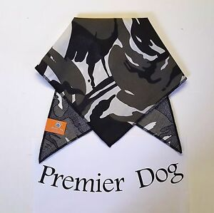 Black Camouflage  Dog Bandana / Scarf - 3 sizes to choose from!