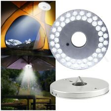 48LED Tent Camping Lamp Outdoor Round Umbrella Night Light Patio Yard Garden