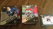 2015-16 UD TIM HORTONS BASE SET #1-100 + 7 CL'S + FUTURES + DIE-CUTS CANADA ONLY