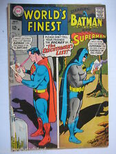 3 Vintage Collectible DC Comic Books Worlds Finest 171 VG+,180 FN- & 181 FNVF
