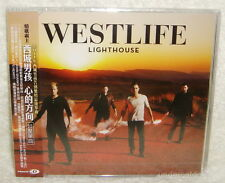 Westlife Lighthouse Taiwan CD w/OBI (Enhanced : Behind the Scenes Photoshoot)