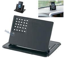 Base STAND Supporto Silicone Adesivo Porta Reggi per Cellulare GPS Auto Telefono