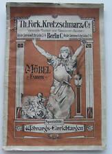 Zeitschrift Möbel Fabrik von Th.Fork.Kretzschmar & Co.