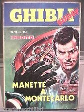 SUPER GHIBLI Editrice Universo 1972 N 11 Fumetti Narrativa di e Fumetti Racconto
