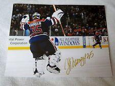 Edmonton Oilers Nikolia Khabibulin Signed 11x14 Photo Auto