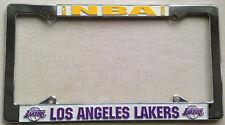 Los Angeles LA Lakers NBA Chrome Metal License Plate Frame