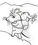 25 * Die Sendung mit der Maus * Malvorlagen - SET 1