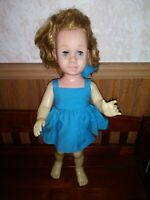 """Vintage Strawberry Blonde Freckled Face 1960 Mattel CHATTY CATHY 20"""" Doll"""