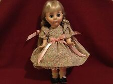 """Vintage Marjorie Spangler Doll 13"""" Cynthia with a boo boo"""