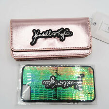 Kendall + Kylie Rosa Metalizado Bandolera Bolso De Mano Embrague Con Estuche Iphone 5 5s se