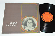 LOUISE FORESTIER Self-titled LP 1974 Gamma Records Canada GS-186 VG/VG+ Pop