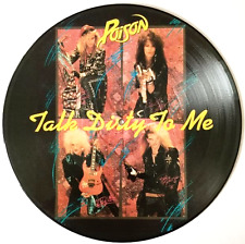 """POISON - Talk Dirty To Me (12"""") (Picture Disc) (VG/NM)"""