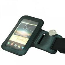 BLACK ARMBAND SPORTS GYM WORKOUT COVER CASE RUNNING ARM STRAP For CELL PHONES