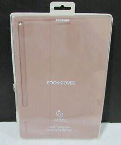 Samsung - Galaxy tab S7 Book Cover - EF-BT870PAEGUJ- (Mystic Bronze), Brown