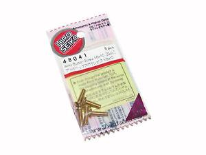 Hiro Seiko 48041 AE B6.1 B64 T6.1 3 x 10mm GOLD Aluminum Button Head Screws