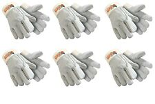 SIX(6) HexArmor Bandit 5042 Heavy Duty Cowhide Leather Cut Resistant Gloves 7/S