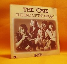 """7"""" Single Vinyl 45 The Cats The End Of The Show / Irish 1980 (MINT) Pop Rock"""