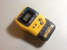 Sony Walkman Sports SRF-M70 Vintage FM/AM Radio And Stopwatch + Belt Clip